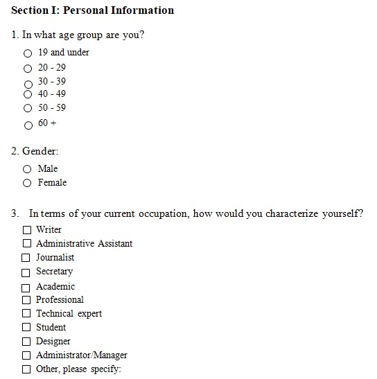 multiple choice test template 4 answer word