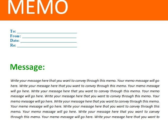 Memo Template Download from www.bestcollections.org