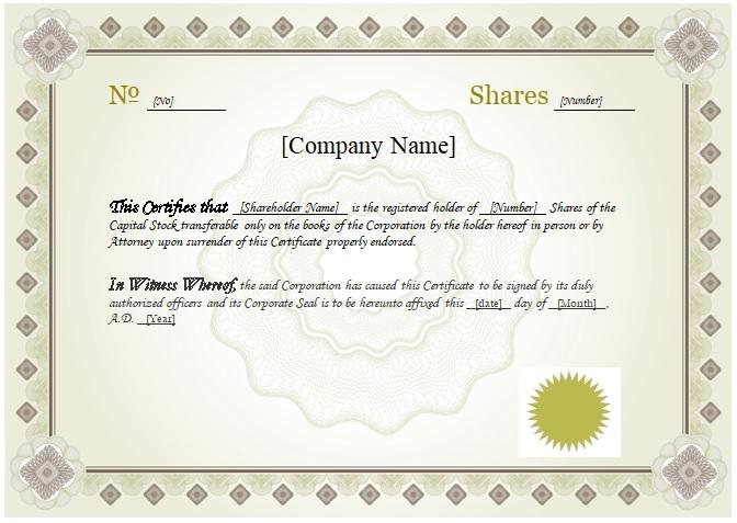 certificate template word templates pdf corporate