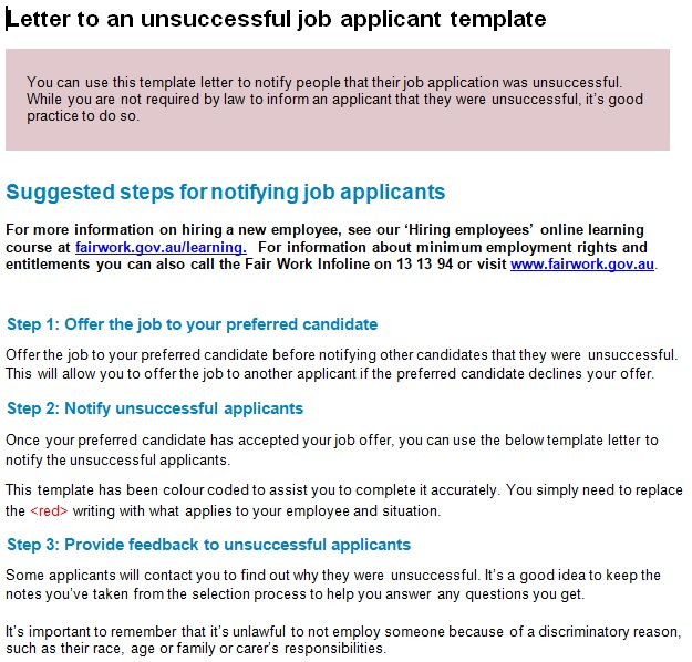 basic employment application