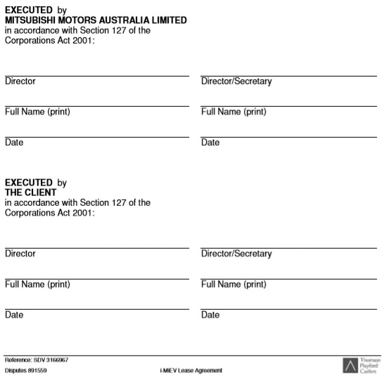 electric car lease agreement template