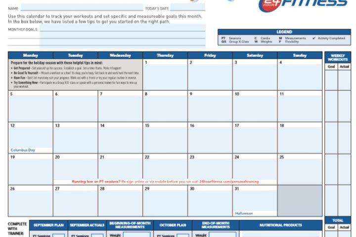 free printable workout log sheet pdf