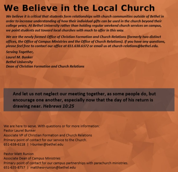 local church directory