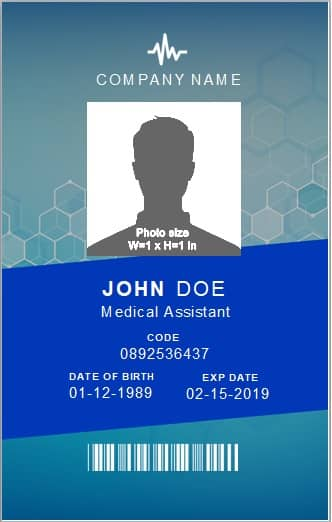 Free Id Card Template 18 Best Identification Card Designs Word Excel