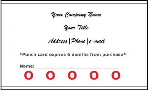 business loyalty cards