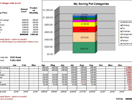 download savings goal tracker