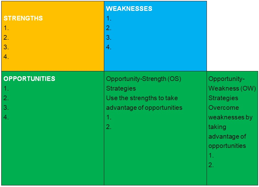 company swot analysis example