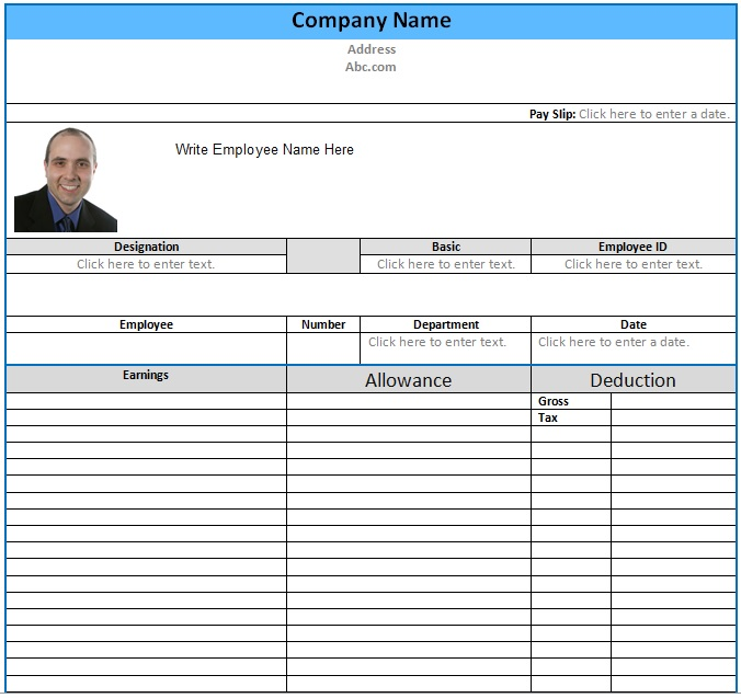 Download Best Collections Of Salary Slip Templates For Corporate 100 Free