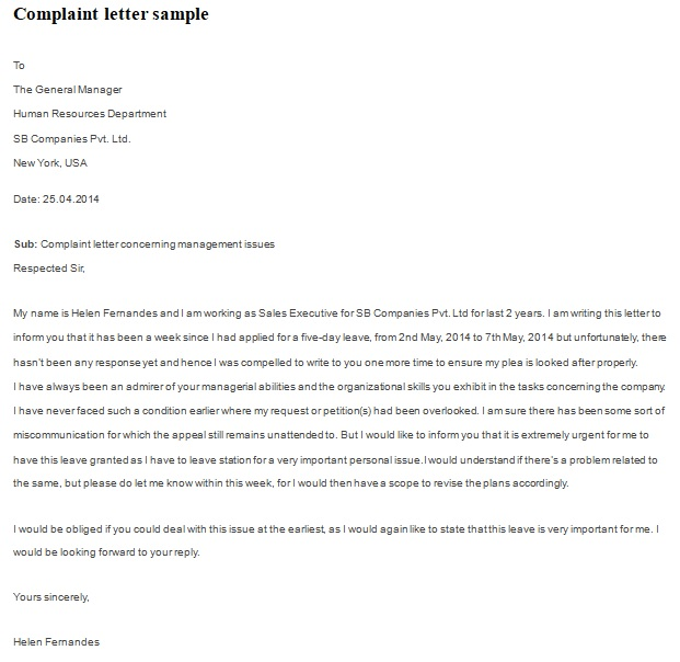 workplace harassment complaint form template