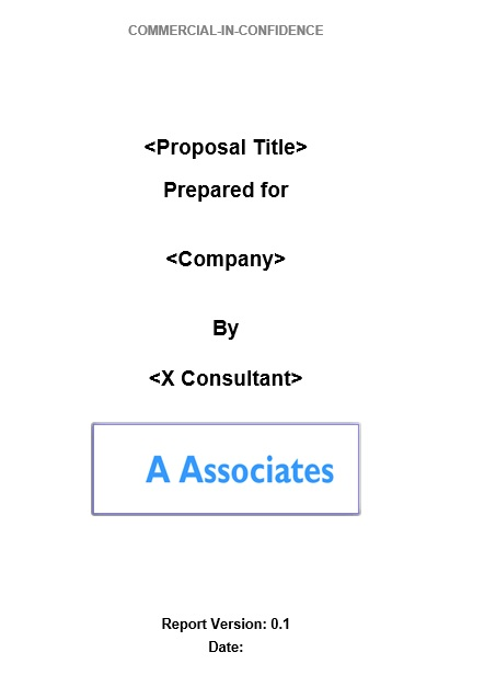 free consulting proposal template 2