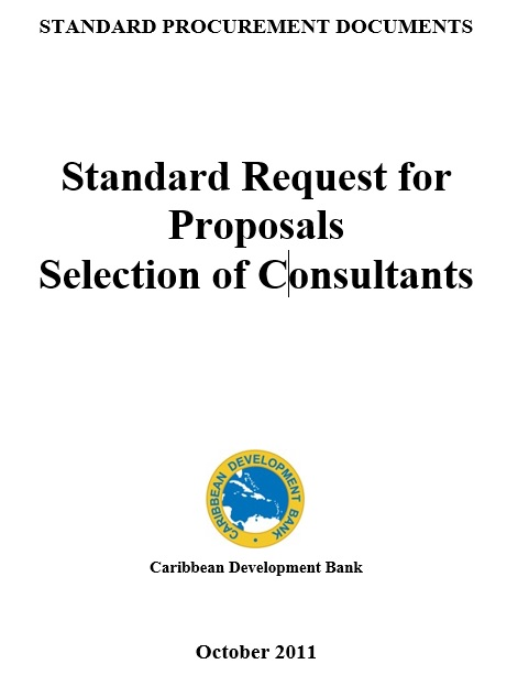 standard request for proposals selection of consultants world bank