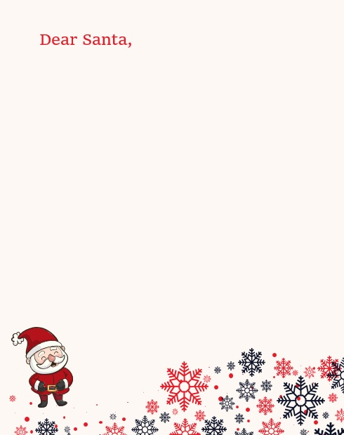 fillable christmas letter template