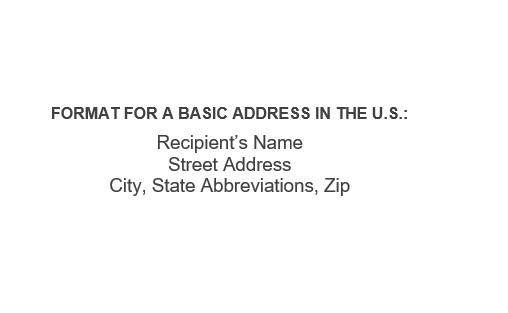 free envelope address template 10