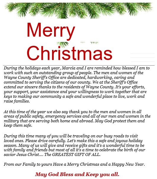 merry christmas letter template