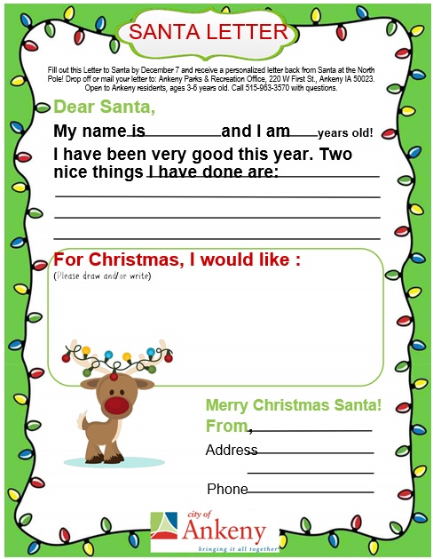printable christmas letter template 5
