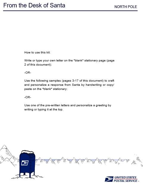 printable christmas letter template 9