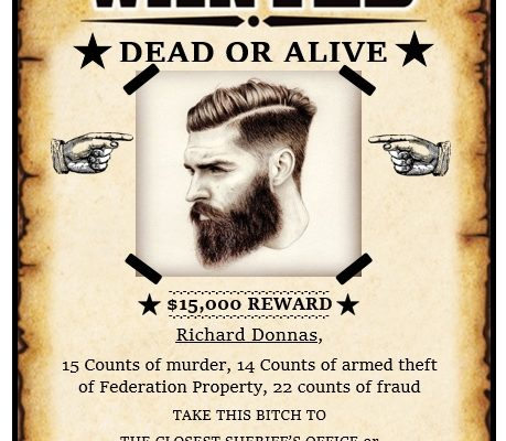 free wanted poster template 13