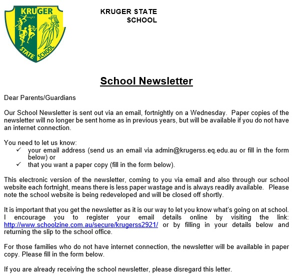 professional newsletter template