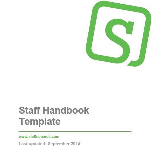 staff handbook template