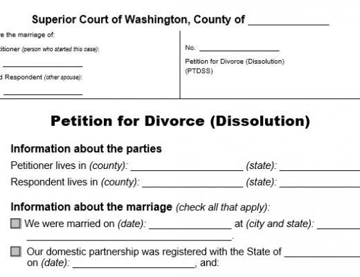 free divorce papers 7