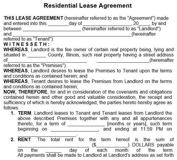 free rental application form 10