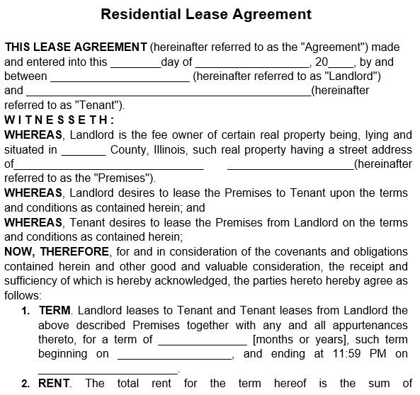free rental application form 13
