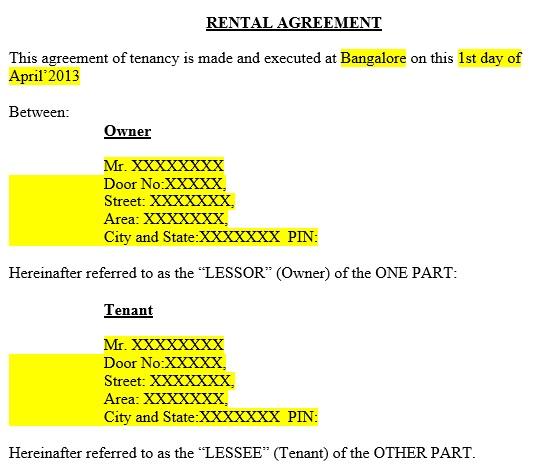 free rental application form 7