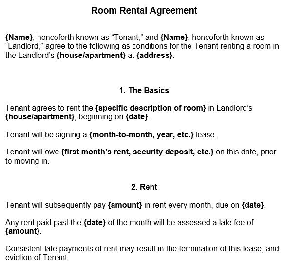 free rental application template 1