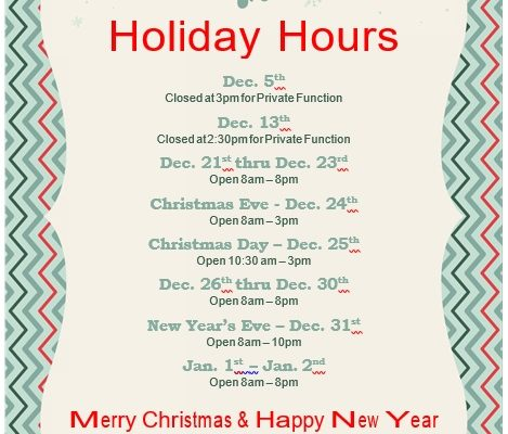 merry christmas and happy new year business hours template